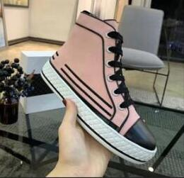 Luxury Casual Designer Shoe Lace-up pearl canvas casual high-top shoes High Quality Speed Trainer Sneakers Runners black Shoes 81