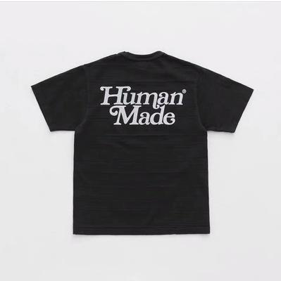 19ss Yaz Tasarımı İnsan Yapımı Tee Gömlek Erkekler Kadınlar breatheable Moda Streetwear Tişörtü Açık tişört Pamuk