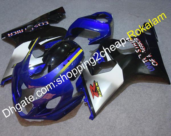Motorcycle Parts For Suzuki GSX-R 600 750 04 05 GSXR 600 2004 GSXR600 2005 K4 ABS Fairing Kit (Injection molding)