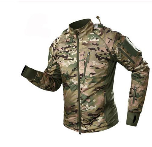 2010 men's waterproof tactical jacket men warm windbreaker bomber jacket camouflage hooded coat us army chaqueta hombre thumbnail