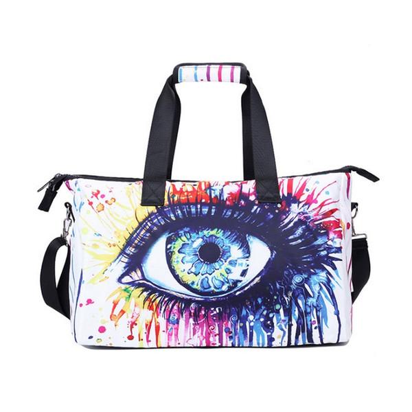 Designer-NEW 3D Digital printing design Fashion Waterproof Large Capacity men Luggage Duffle Bags Casual Handbag Women Travel Bags