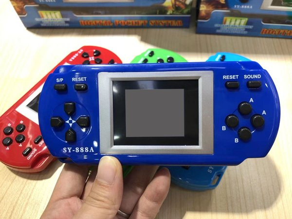 Klasik Çocuk El Oyun Konsolu Mağaza Olabilir 288 Oyunları PK PVP PXP3 Ps4 1.8 inç yüksek çözünürlüklü Ekran Renkli Ekran oyun konsolları