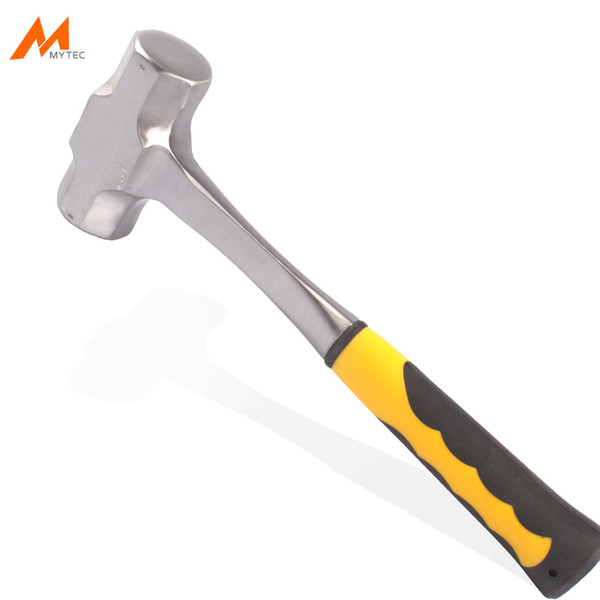 2lb - 4lb sledge hammer heavy duty one-piece forged steel brick drilling crack hammers building construction engineer hammer