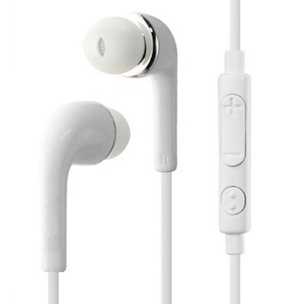 S4 3.5mm fiş beyaz ses kontrolü ile siyah kulak içi kulaklıklar ve mikrofon kulaklık kulaklık Samsung Galaxy S4 S5 S6 Not 5