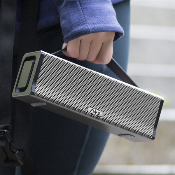 EWA D560 Portable 2-channel Stereo Strong Bass 20W High-power Loudspeaker for Outdoor/Street/Party Used Wireless Bluetooth Speaker