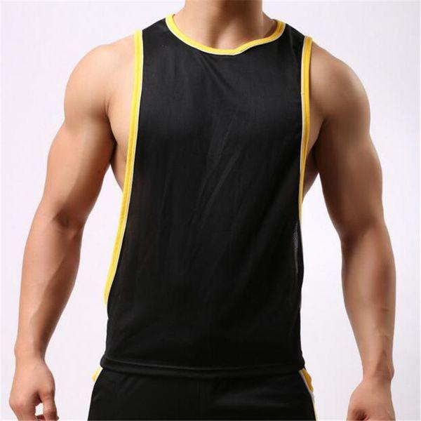 Débardeur de vêtements pour hommes, débardeur de vêtements pour hommes, sous-chemise en coton Gasp sans manches mens singlets bodybuilding