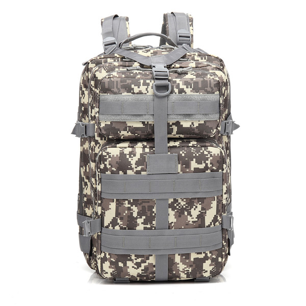 BL047 3P 45L Outdoor Marching Knapsack Tactical Backpack ACU Camouflage