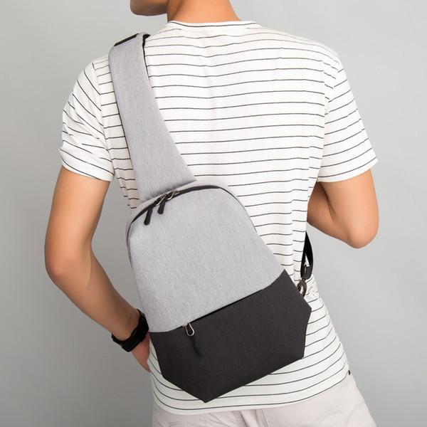 Unisex Crossbody Bags For Women Canvas Saddle Riding Messenger Chest Bags Men Back Pack Lady Shoulder Bag 7.9 Inch Ipad