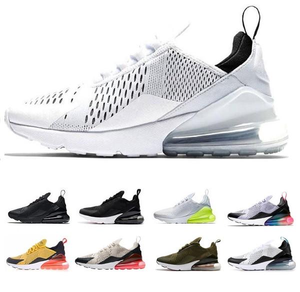 Hava Erkek Tasarımcı Koşu Ayakkabıları Erkekler Için 2019 Rahat Hava Yastığı Siyah beyaz Elbise Eğitmenler Açık En Iyi Yürüyüş Koşu Spor Sneakers 40-45