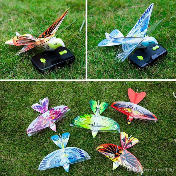 Chegada nova Mini Espuma Anti-Crash RC Zangão TECHBOY 98007 + 2.4 Ghz RC Pássaro de Controle Remoto Autêntico E-Bird Avião Avião Voador RC brinquedos