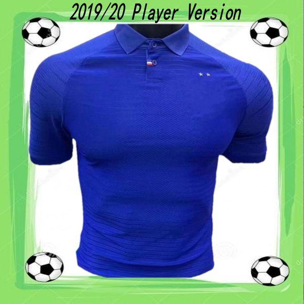 Version du joueur 2019 GRIEZMANN POGBA Maillot 100ème anniversaire du maillot de foot MBAPPE KANTE FEKIR DEMBELE