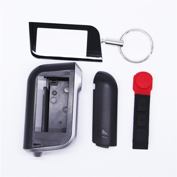 Russian version A93 case for starline A93 A63 A36 lcd remote control key fob two way car auto alarm system