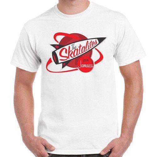 Jamaika Reggae Retro Tişörtlü 338 2019 Yaz Sokaktan Skatalites 3D Baskı T gömlek giymek