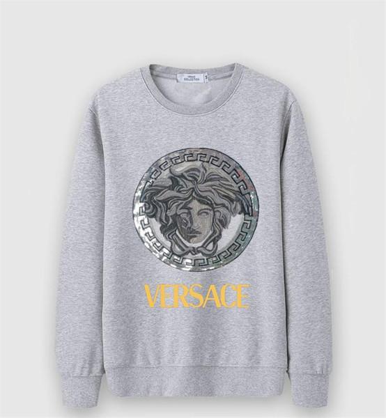 2019 chaud nouveau mode casual col rond hommes de haute qualité sweat à capuche imprimé sportswear en coton lâche pour les hommes et les femmes