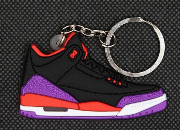 Hot selling star ball shoe key ring chain soft glue key ring chain football gift key ring chain customization