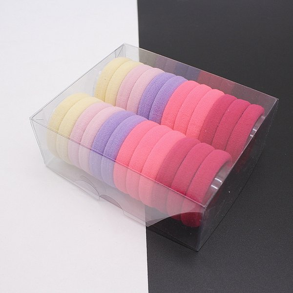 96pcs Elastic Hair Band Ponytail Holders Rubber Bands Hair Accessories For Girl Women Headband Hair Ties Gum Hairband Headwear