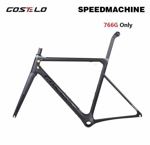 766g only Costelo Speedmachine 1.0 ultra light carbon road bike frame DISC bicycle bicicleta frame carbon fiber bicycle frame