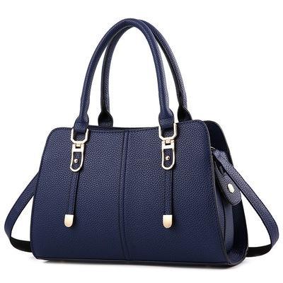 Europe And America Brand B1075 Women's Handbag Fashion Women Messenger Bag Rivet Single Shoulder Bag High Quality Female Bag066