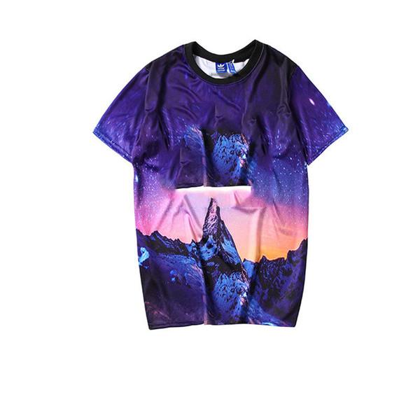 Camisetas para hombre 2019 Hombres y mujeres de verano Marca deportiva Camisa casual Camisetas Top Camisetas de manga corta Top S-XXL