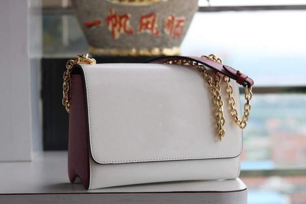 Натуральная кожа Женская сумка с надписями бренда Дизайнерские сумки Качество Lady Fashion Наплечные сумки 2019 Новый стиль