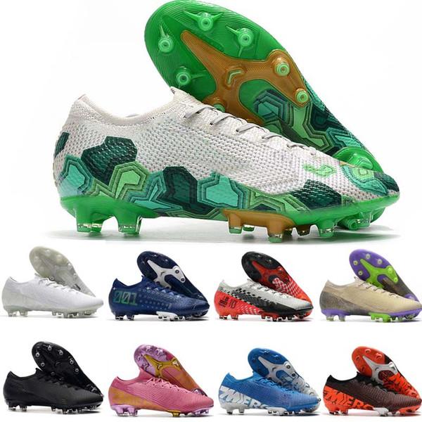 best selling Mens Soccer Cleats Superfly 7 Elite SE FG CR7 Neymar Soccer Shoes Mercurial Vapors 13 Scarpe Calcio Crampons De Football Boots