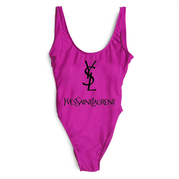 Fashion G F Luxury Designer Ladies Beach Bikini Swimwear Womens Swimsuit Sexy Bathing Suits Sexy One-piece Swimsuits free shipping