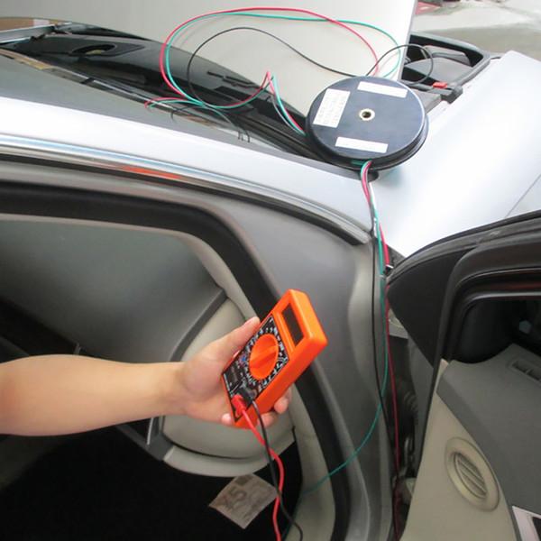 Connection ferramenta Auto Multímetro ajustável retrátil durável Acessório Car Test Lead Reparação Três Chuck Extensão Reel Wire