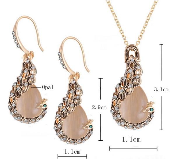 Elegent Femmes Strass Collier Crochet Boucles D/'oreilles Bracelet Bijoux Set Cadeau