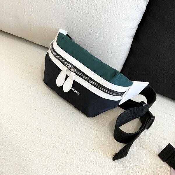 Neue Frauen Tasche Nylon Reise Taille Gürteltasche Geld Gürtel Brieftasche Tasche Hochwertige Reise Mode Messenger Crossbody Tasche