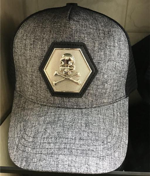 Mode baseballmütze männer frauen outdoor marke designer sport mesh caps hip hop knochen einstellbar snapbacks coole muster hüte neue schädel hut