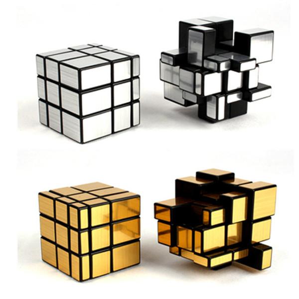 15 STÜCKE Zauberspiegel Cube Geschwindigkeit Cube Lernen Bildung Spielzeug Professionelle Magie Cast Beschichtete Puzzle Für Kinder Zauberwürfel AIJILE