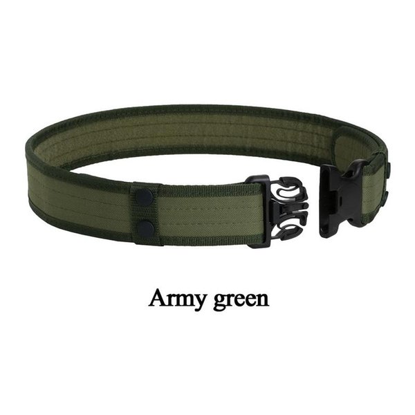Outdoor Training Belt Camouflage EVA Foam Canvas Quick Release Band Waist Support for Men Hunting