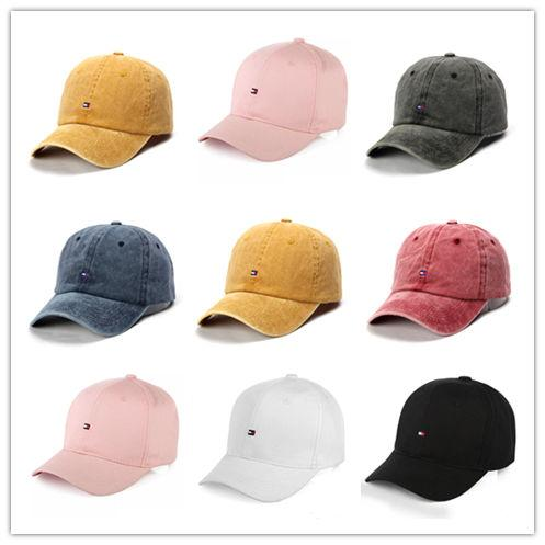 New Arrival Cartoon Water Wash Embroidery shark pattern Hat Outdoor Leisure Baseball polo Cap Men and Women's Hat