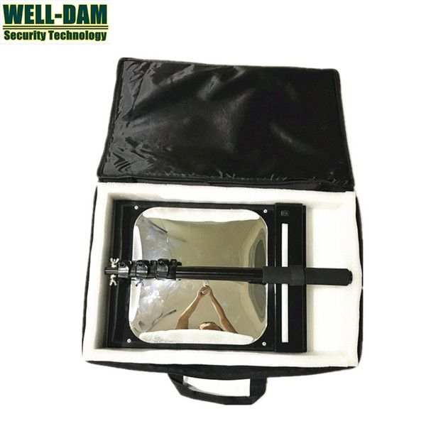 WD-MT under car search mirror under vehicle inspection mirror with square convex mirror