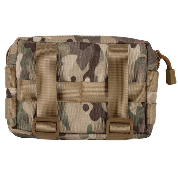Waterproof Tactical Military 600D Nylon Bag Modular Small Utility Pouch EDC Bag Mini Bagged Open Gear Tools Pouch Case #243794