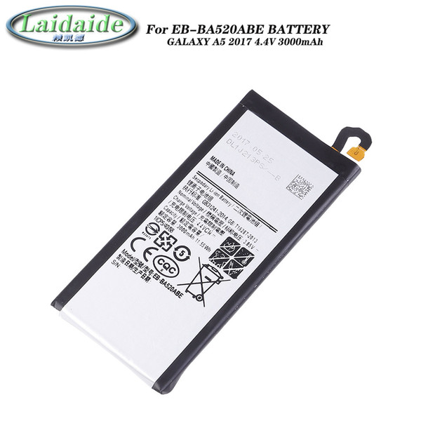 EB-BA520ABE Battery li-ion for Samsung Galaxy A5 2017 A520 SM-A520D SM-A520S SM-A520K batteries Mobile phone built-in replacement battery