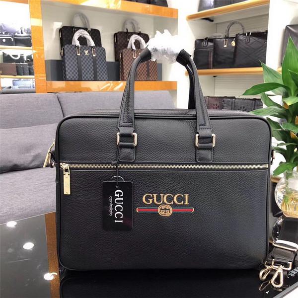 98c09e40ca53 Дизайнерская мужская Портфель класса люкс мужская Дизайнерская деловая мужская  большая сумка из натуральной кожи Сумка для