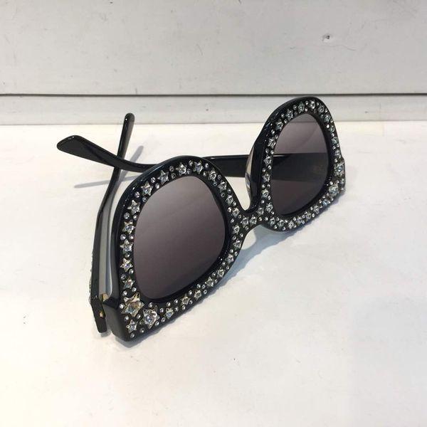 Vente en gros-Lunettes de soleil Femmes de luxe Marque Designer Yeux de chat Lunettes Style d'été Rectangle Cadre supérieur Protection UV de haute qualité Venez avec étui