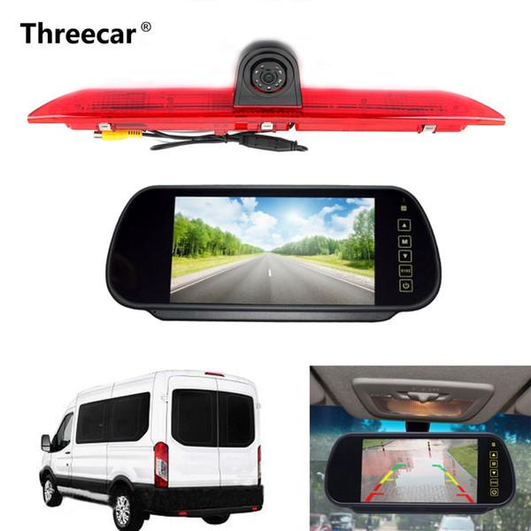 "5/"" LCD Monitor de tablero Ford Transit IR LED luz de freno trasera vista cámara reversa"