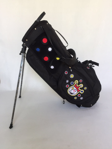 best selling 2019 New Released High Quality Custom Golf Tour Stand Bag Carry Bag Free EMS Shipping For Tour Use