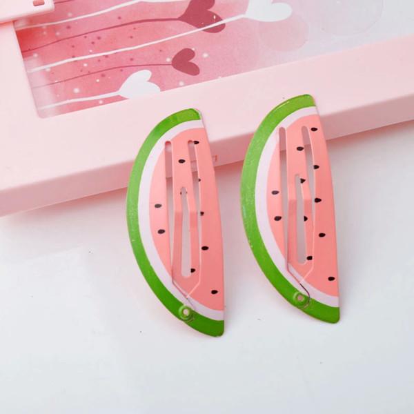 Bebê BB clip crianças hairpin cocar sereia BB clipe fora estilo hot shell firebird melancia abacaxi BB clipe
