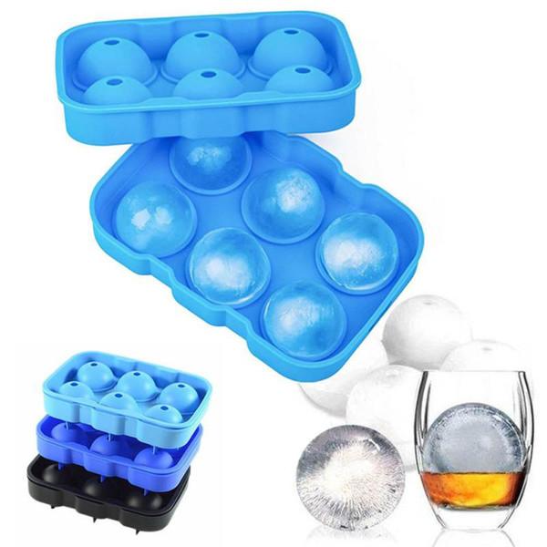Parti Brick Round Bar Whisky Ice Ball Cube Maker Plateau Sphère Moule Moule Cuisine