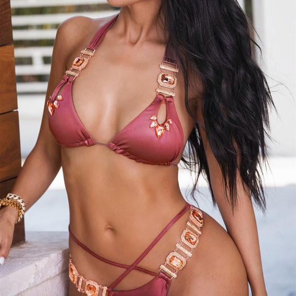 Bikinx cobra imprimir bikinis 2019 mujer maiô triângulo sexy feminino maiô empurrar para cima swimwear mulheres banhistas micro biquíni novo