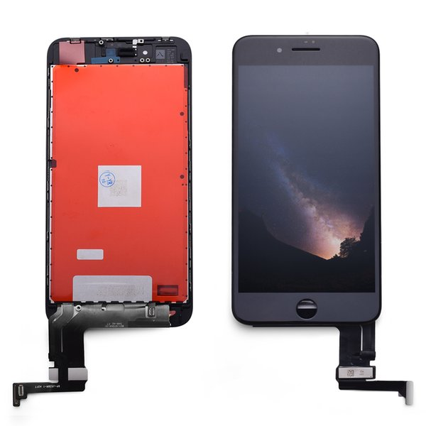 High Quality AAA 100% tested LCD Display Touch Screen Digitizer Full Assembly For iPhone 7P Replacement Repair Parts & Free Shipping