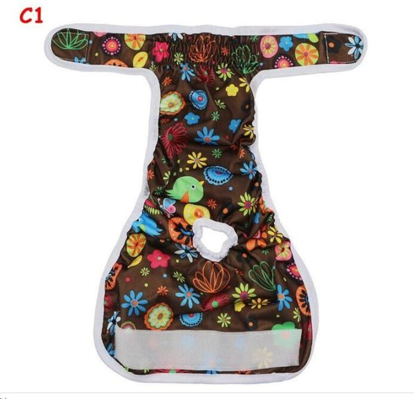 Dog Physiological Pants XS-L Diaper Sanitary Washable Female Dog Shorts Panties Menstruation Underwear Briefs Jumpsuit For Dog
