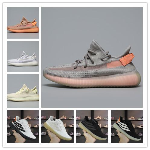 [Con scatola] New Fashion Luxury Designer Donna Scarpe Uomo SOBAKOV 450 450v350 Kanye West Beackham scarpe da ginnastica bianche