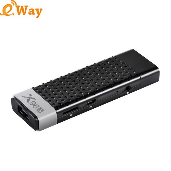 X96S Amlogic S905Y2 Quad Core Android 8.1 TV box 2.4G/5.8G Wifi 4K HD TV Media Player Smart TV Stick