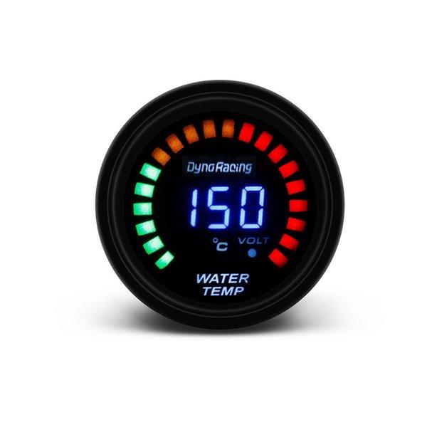 """Ölçerler Boost Ölçerler Dynoracing 2 \ """"52mm Dijital 20 LED Boost Bar PSI Vakum Su Sıcaklığı Yağ Sıcaklığı Yağ Presi Voltmetre Hava / Yakıt Oranı"""