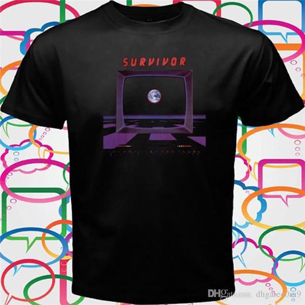 Custom T Shirts Herren Rundhalsausschnitt Kurzarm Best Friend Survivor Shirts