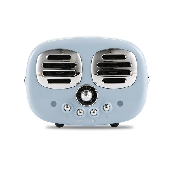 HM12 Retro Radio Bluetooth Speaker Vintage nostalgic Heavy Bass 3D Stereo Surround Hifi Speakers with TF, USB ,FM, AUX lanse